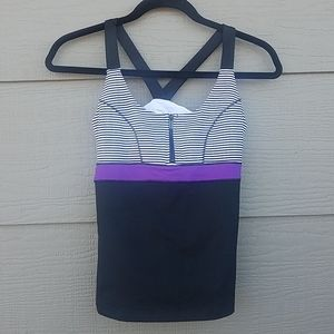 BeBe sport athletic workout tank top size Medium